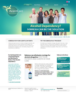Avant Care Health Products website