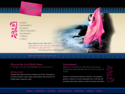 belly dancer's website