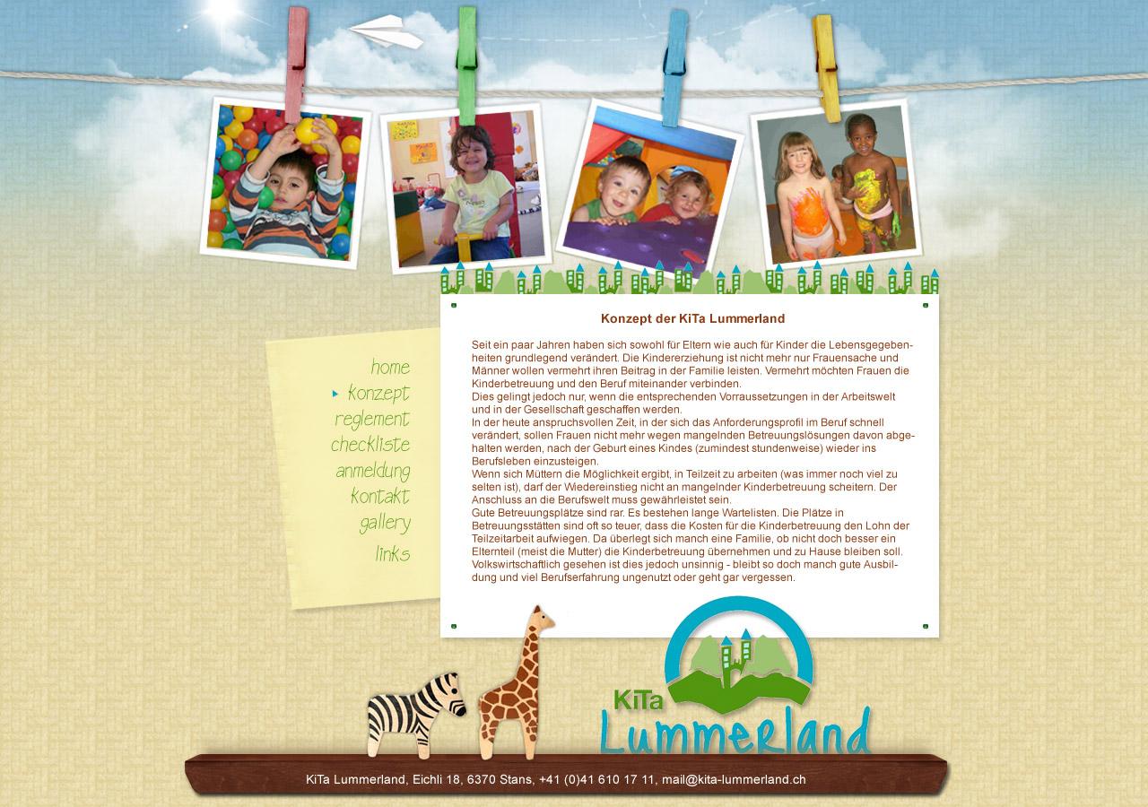 child website: