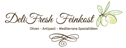 DeliFresh Feinkost logo design