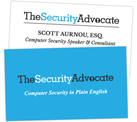 TheSecurityAdvocate businesscard