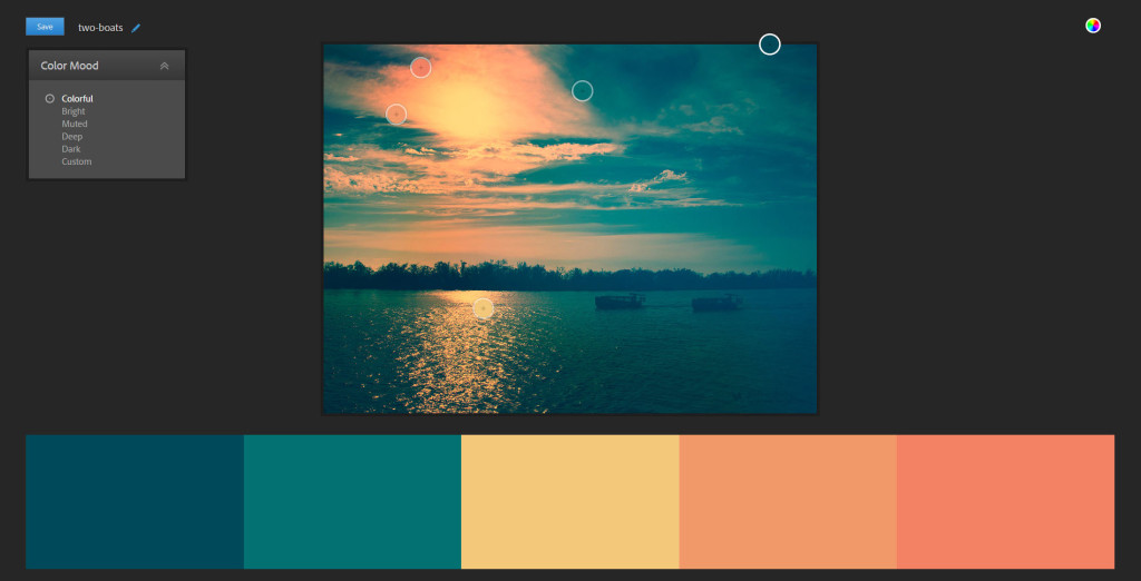 Adobe Color: how to create theme